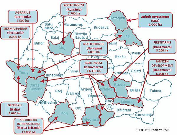 Harta Terenurilor Agricole Deținute De Străini Evenimentul Zilei