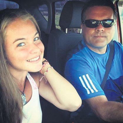 Andrada și Lucian Surdeanu FOTO: FACEBOOK