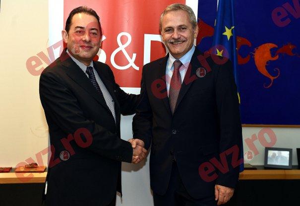 Gianni Pittella si Liviu Dragnea